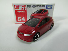 TAKARA TOMICA  #54 HONDA CIVIC TYPE R EURO,1~2pcs:No Track,3~28pcs:With Track