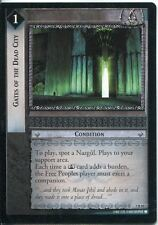 Lord Of The Rings CCG Card RotEL 3.R81 Gates Of The Dead City
