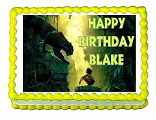 Jungle Book Edible image Cake topper decoration - personalized free!