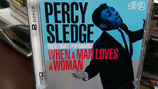 PERCY SLEDGE The Ultimate Performance CD/DVD When a Man Loves a Woman Soul R&B