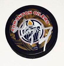 WAYNE GRETZKY Edmonton Oilers Hockey Puck NHL Signed Autograph JSA COA