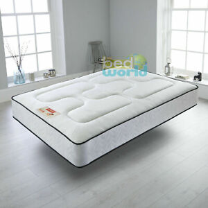 "SEMI Orthopaedic Spring Mattress choice of 8"" Thick  - 10"" Deep - 12"" Extra Deep"