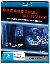 PARANORMAL ACTIVITY BLU RAY - NEW & SEALED INC ALT ENDING FREE POST
