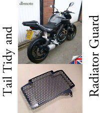 Yamaha MT-125   Tail Tidy & Radiator Guard    2014 - 2019     (NO WIRE CUTTING).