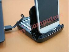 New Dock Cradle Dual Charge Base Holder Adapter for Samsung Galaxy N7000 i9228