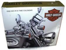 NIOB HARLEY-DAVIDSON 2006 Day-AT-A-Time Calendar Motorcycles Collectible -HM1