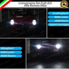 KIT FARI FULL LED ALFA ROMEO MITO ANABBAGLIANTI H7 + ABBAGLIANTI H7 CANBUS