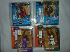4) Vince Carter/Ray Allen/Chris Webber Figure Jersey Variant NBA McFarlane Rare