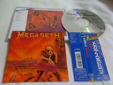MEGADETH / peace sells../JAPAN LTD CD OBI