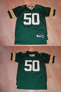 Youth Green Bay Packers A.J. Hawk L (14/16) Reebok (Embroidered) Jersey