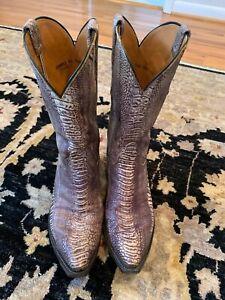 Lucchese Classics full Ostrich leg boots 10.5 D