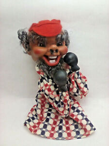 """Boxing Hand Puppet Bobble Head Doll on a Stick - 12"""" high - Nice Shape"""