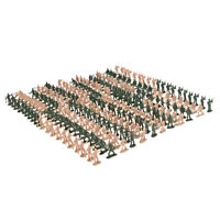 360pcs 1:72 Scale Plastic Soldiers Figurine Sand Table Model Accessory
