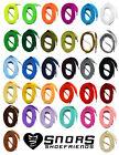 flache SCHNÜRSENKEL 60-240cm, 7mm, FLACHSENKEL farbig  Polyester Sneaker, SNORS