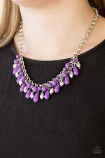 Cabanas - Purple Paparazzi Necklace - Coastal