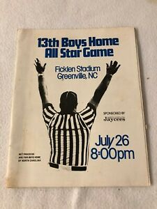VINTAGE/ORIG 13TH BOYS HOME ALL STAR GAME GREENVILLE, NC - JULY 26th 1975