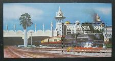 MALAYSIA 1985 CENTURY TRAIN KTM MS 318 MNH OG FRESH