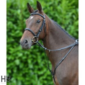 Hy Hunting Breastplate with Running Martingale Attachment – Cob, Full, XFull