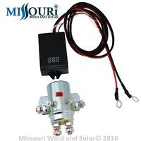 10,000 watt 440 AMP charge controller 12 volt  wind turbine solar NO BACK PLATE