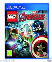 LEGO Marvel Avengers Game PS4 - 7+ Kids Game NEW SEALED UK PAL PlayStation 4