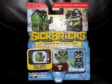 Sick Bricks Team 2 Pack HAZ MATT SCUBA SPY Sickbrick App Video Game Scan Brix