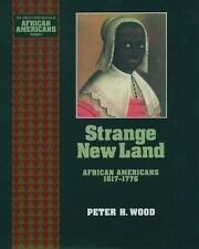 Strange New Land: African Americans 1617-1776 (Young Oxford History of-ExLibrary