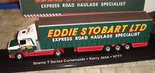 EDDIE STOBART - SCANIA T SERIES CURTAINSIDE TRUCK - KERRY JANE   -1:76 - BOXED