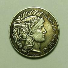 Coin 1 frang Ari 1927 Albania