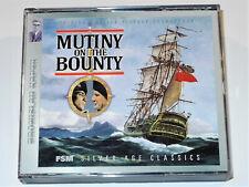 Bronislau Kaper MUTINY ON THE BOUNTY Marlon Brando Soundtrack FSM 3 CD Set (VG+)