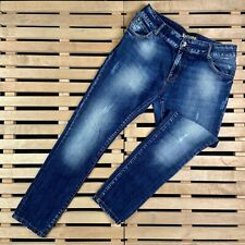 Mens Jeans Galliano Size 30 Blue