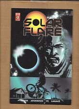 SOLAR FLARE #2 SELF PUBLISHED  - NOT SCOUT COMICS 1ST PRINTING