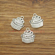 25 Carrot Charm Vegetables Food Charms Jewelry Making DIY Antique Silver 6x25x3