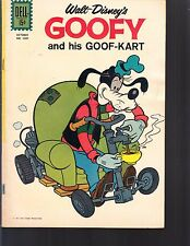 GOOFY AND HIS GOOF-KART #1201 DELL/ 4-COLOR 1961  VG+   WALT DISNEY-MOVIE/TV