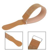 Leather Straight Razor Folding Knife Blade Sharpening Belt Barber ShavinJ Fw