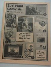 Bud Plant Comic Art Magazine Wholesale Catalog No.2 070715R