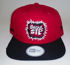 Hip Hop Snapback  Hat Wild Style - Urban Street wear   Red / Black Bill