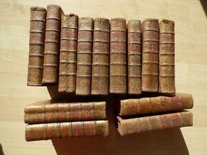 13 Vol. 1770-1781, sans les planches! Buffon, Histoire de oiseaux
