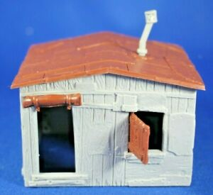 Plasticville - O-O27 - #45983 - Hobo Shack - Large Shack Only - Excellent Cond.