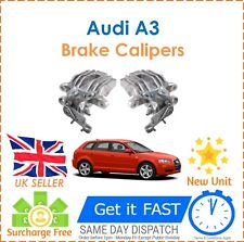 For Audi A3 8P1 8P7 8PA 1.2 1.4 1.8 1.9 2.0 Rear Right & Left Brake Calipers NEW