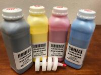 (BULK) 4 Toner Refill for Lexmark C540 C544 X543 X544 X546 (Total 800g)