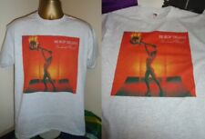 BE BOP DELUXE- SUNBURST FINISH- SUPER 1976 ALBUM  ART T SHIRT- GREY EXTRA LARGE