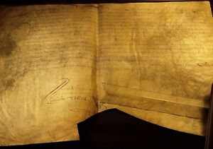 KING LOUIS XIV AUTOGRAPH: Appointment of De Villemonte as State Counselor 1644