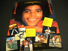 FOSTER SYLVERS Goes Solo with His Favorite Songs 1978 PROMO POSTER AD Sylvers
