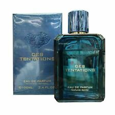 DES TENTATIONS 100ML BY FRAGRANCE WORLD ARABIAN LONG LASTING EDP PERFUME****