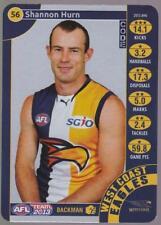 2013 Teamcoach Silver Code Card -  Shannon Hurn