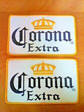 """Corona Extra Beer Large Jacket Racing Patch ~ LARGE   8"""" x 5"""" ~ TWO (2) NEW & FS"""