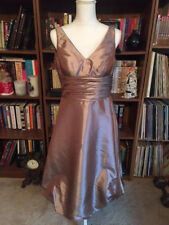 NWOT Bill Levkoff Bubble Dress Champagne Formal Holiday Party Cocktail Sz 6 Sexy