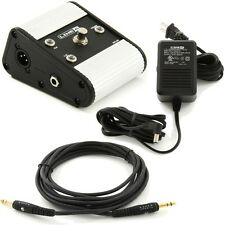 Line 6 Variax Cabled Power Kit 9V XPS AB Box Planet Waves 15' Guitar Cable JTV