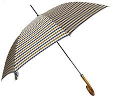 Aquascutum Walker Club Check Umbrella - Vicuna