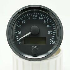 VDO SingleViu Tachometer Tacho 80mm 200 Km/h